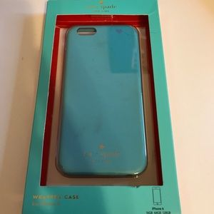 Kate Spade iPhone 6/6s leather case